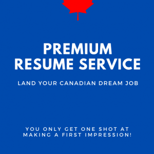 Canadian Resume and Cover Letter